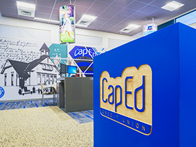 Photos of our latest cap ed project are in